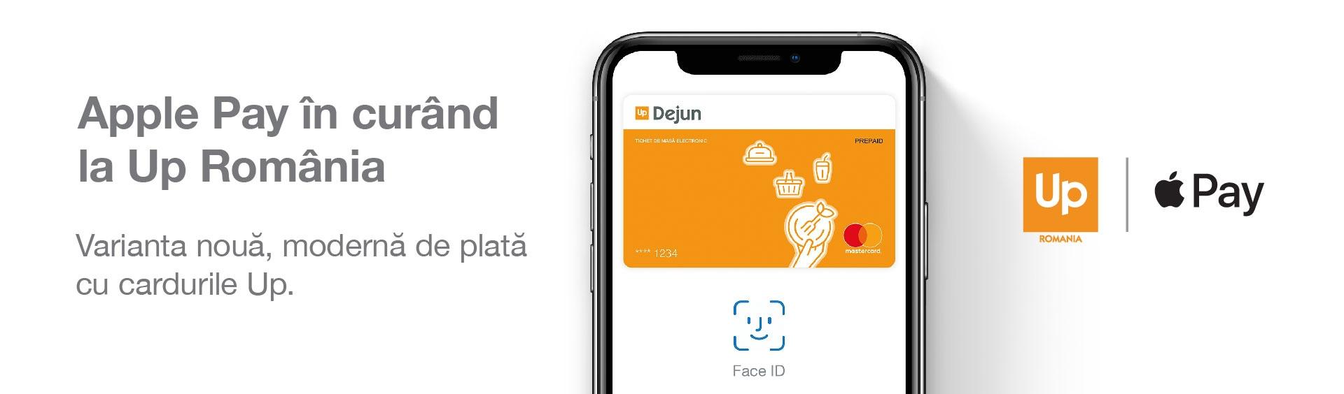 Apple Pay la Up Romania