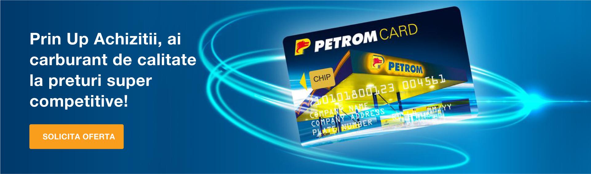 Card Carburant OMV Petrom