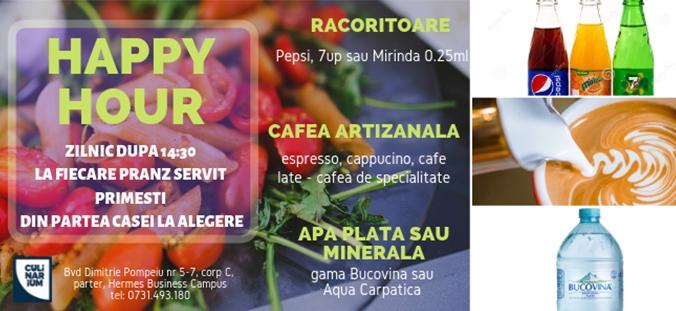 oferta cullinarium bistro pranz tichete sau card masa up romania