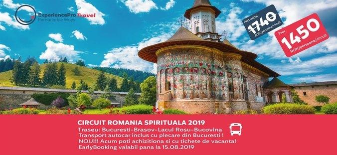 oferta circuit romania spirituala experiencepro travel voucher v