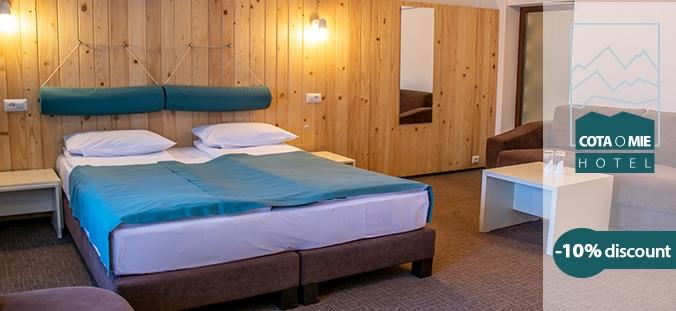oferta cazare hotel cota 1000 sinaia tichete sau card vacanta up